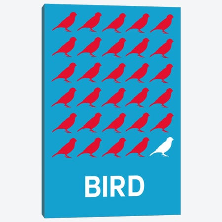 Bird Of Birds Canvas Print #NAX419} by Naxart Canvas Art