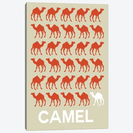 Camel Of Camels Canvas Print #NAX424} by Naxart Canvas Art