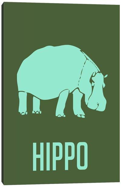 Hippo II Canvas Print #NAX431