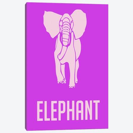 Elephant II Canvas Print #NAX433} by Naxart Canvas Artwork