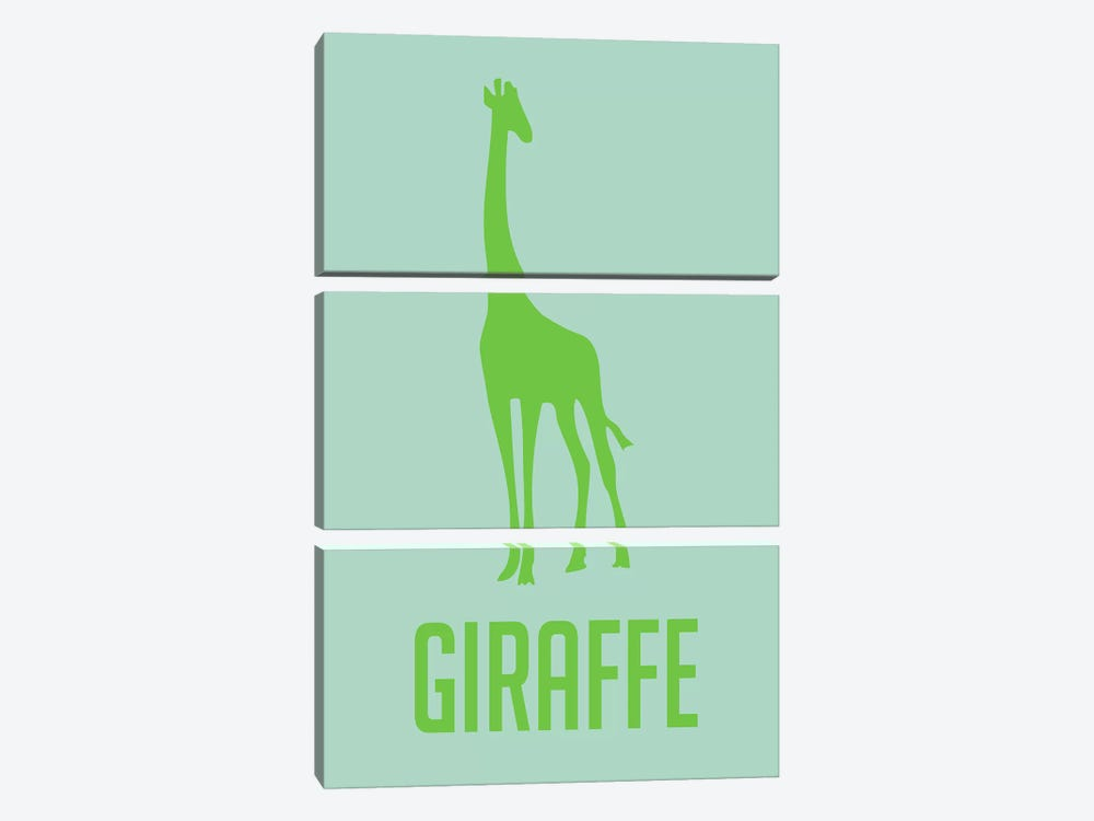 Giraffe III by Naxart 3-piece Art Print