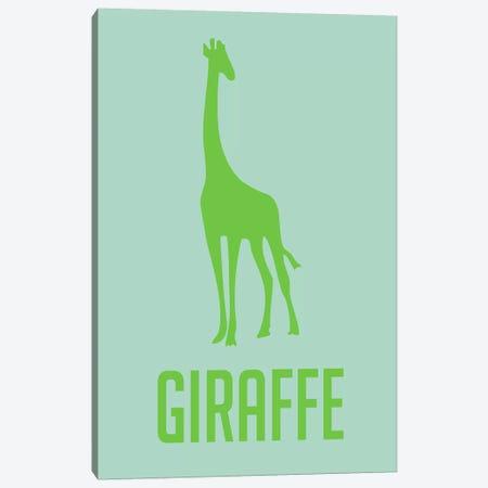 Giraffe III Canvas Print #NAX435} by Naxart Canvas Print
