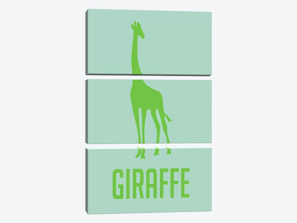 Giraffe III by Naxart 3-piece Art Print