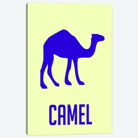 Camel II Canvas Print #NAX436} by Naxart Canvas Art Print