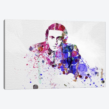 Al Pacino Canvas Print #NAX43} by Naxart Canvas Art Print
