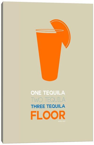 George Carlin's Take On Tequila II Canvas Art Print