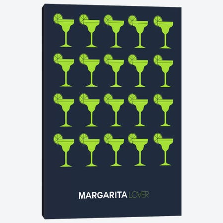 Margarita Lover I Canvas Print #NAX443} by Naxart Canvas Art Print