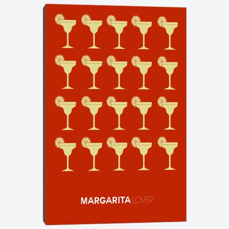 Margarita Lover II Canvas Print #NAX444} by Naxart Canvas Wall Art