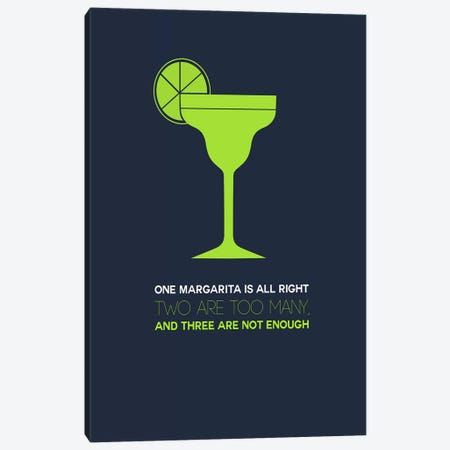 Not Enough, Margarita Style Canvas Print #NAX445} by Naxart Canvas Artwork