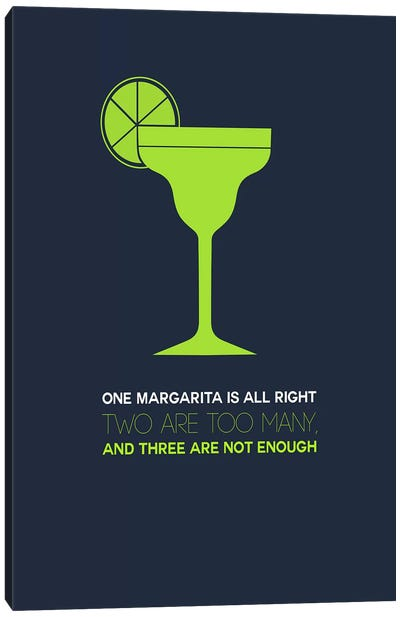 Not Enough, Margarita Style Canvas Print #NAX445