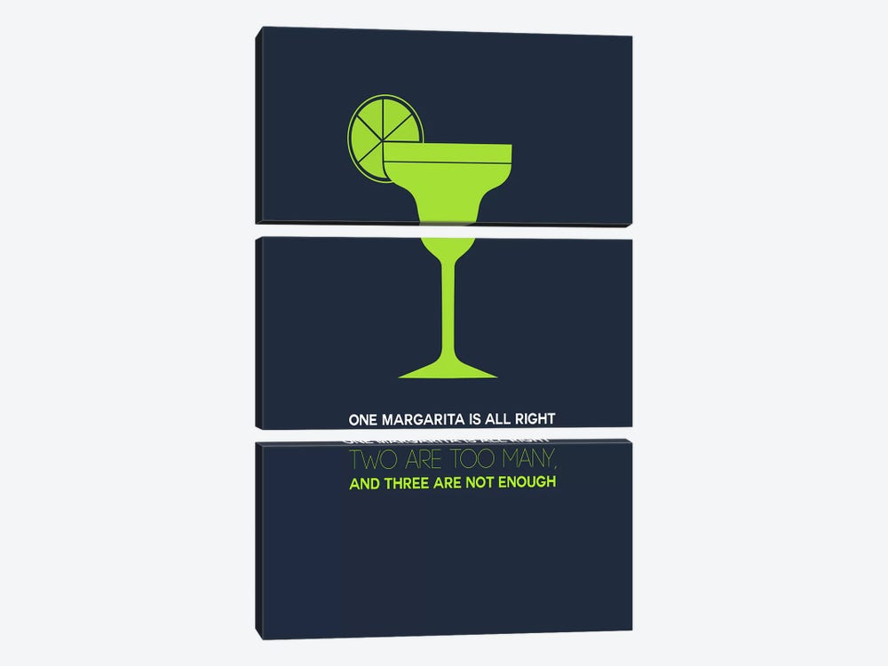 Not Enough, Margarita Style by Naxart 3-piece Canvas Wall Art