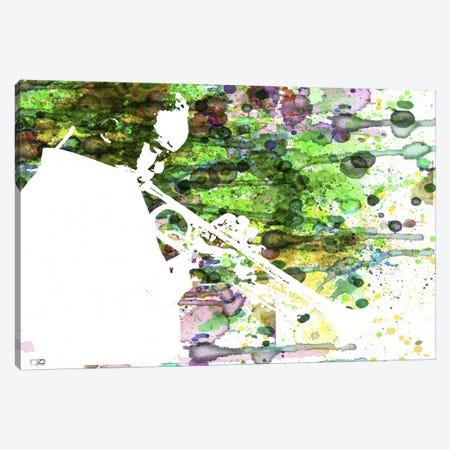 Jazzman Canvas Print #NAX44} by Naxart Canvas Wall Art