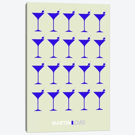 Martini Lover I Canvas Print #NAX455} by Naxart Art Print