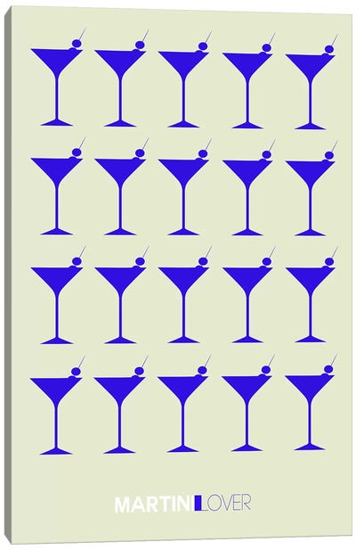 Martini Lover I Canvas Art Print