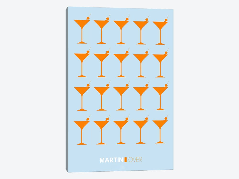 Martini Lover II by Naxart 1-piece Canvas Artwork