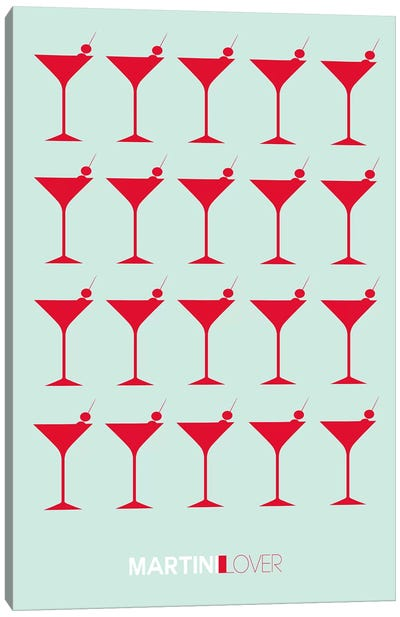 Martini Lover III Canvas Art Print