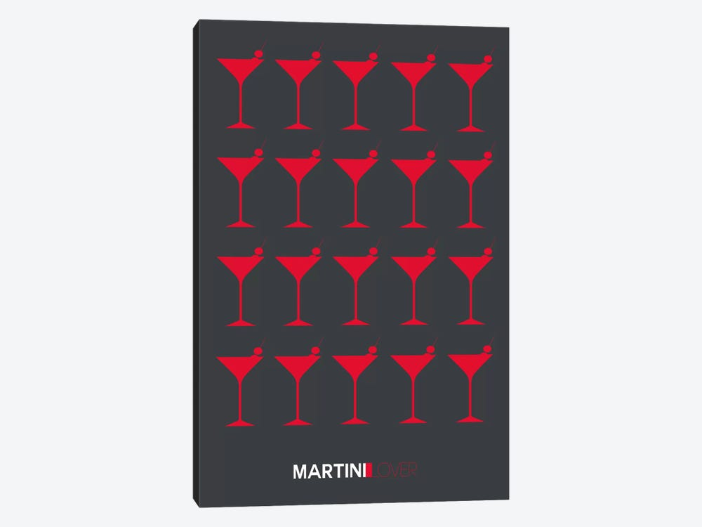 Martini Lover IV by Naxart 1-piece Canvas Art