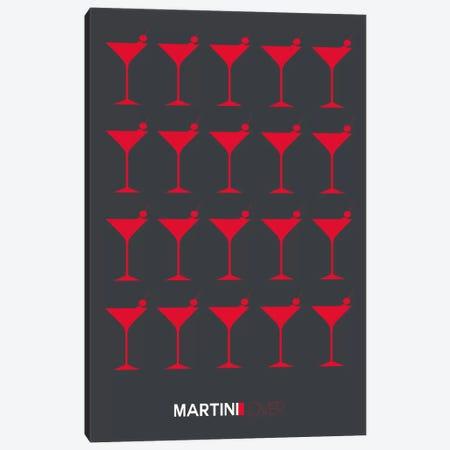 Martini Lover IV Canvas Print #NAX458} by Naxart Canvas Art