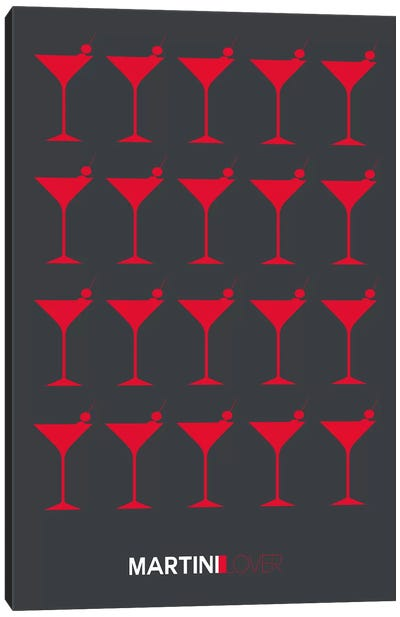 Martini Lover IV Canvas Art Print