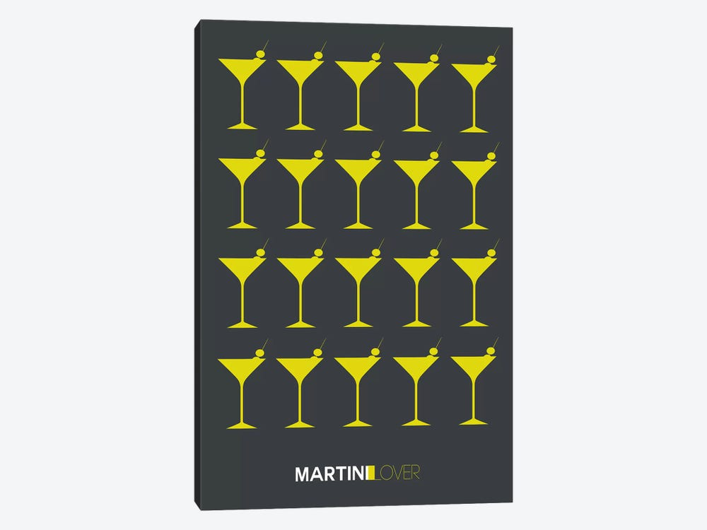 Martini Lover V by Naxart 1-piece Canvas Print