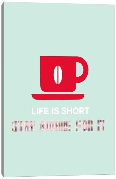 Stay Awake Canvas Print #NAX463