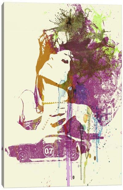 Challenger Girl Canvas Art Print