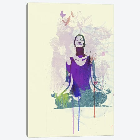 Meditating Mind Canvas Print #NAX494} by Naxart Canvas Print