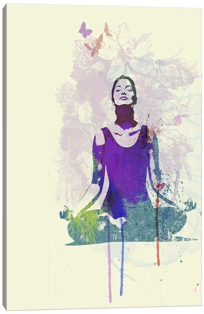 Meditating Mind Canvas Art Print