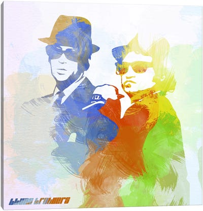 Blues Brothers Canvas Print #NAX4