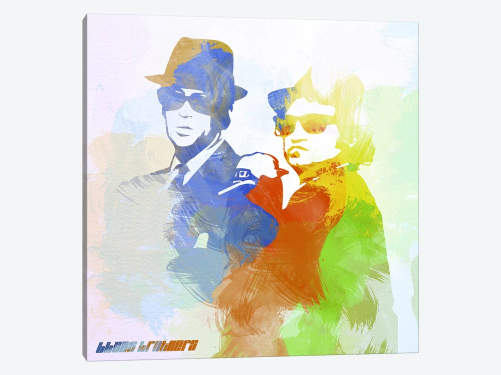 Blues Brothers by Naxart 1-piece Canvas Print
