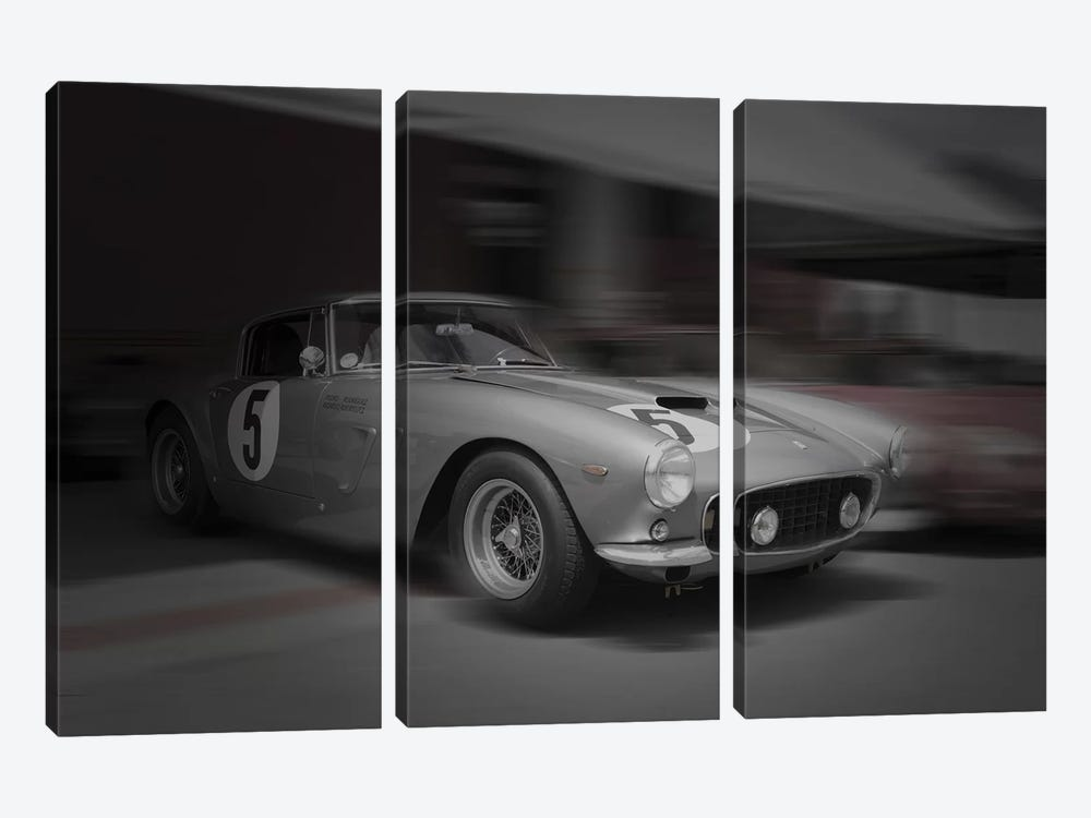 Before The Race by Naxart 3-piece Canvas Wall Art