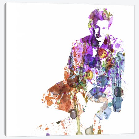 Sean Penn Canvas Print #NAX50} by Naxart Canvas Artwork