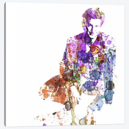 Sean Penn Canvas Print #NAX50} by Naxart Canvas Artwork