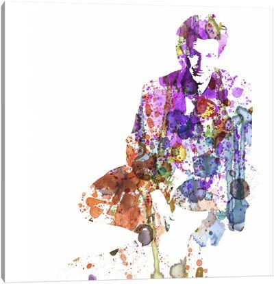 Sean Penn Canvas Art Print