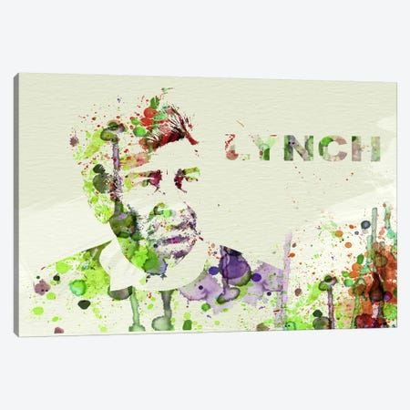 David Lynch Canvas Print #NAX52} by Naxart Canvas Art