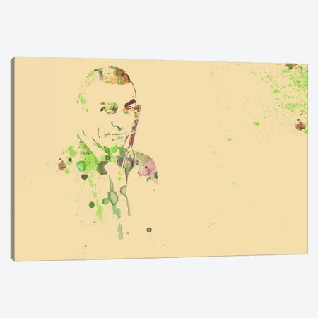 Sean Connery (James Bond) Canvas Print #NAX54} by Naxart Canvas Print