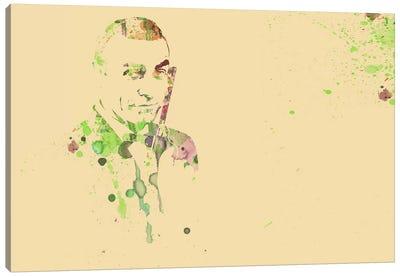 Sean Connery (James Bond) Canvas Art Print