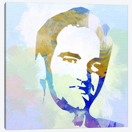 Quentin Tarantino Canvas Print #NAX5} by Naxart Canvas Art Print