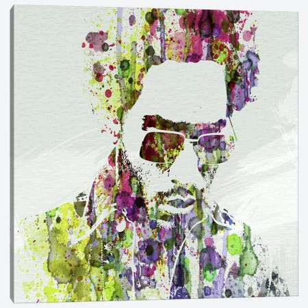 Lenny Kravitz II Canvas Print #NAX62} by Naxart Art Print