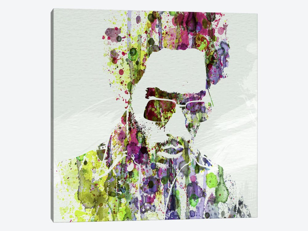 Lenny Kravitz II by Naxart 1-piece Canvas Art Print