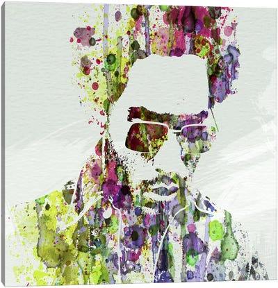 Lenny Kravitz II Canvas Art Print