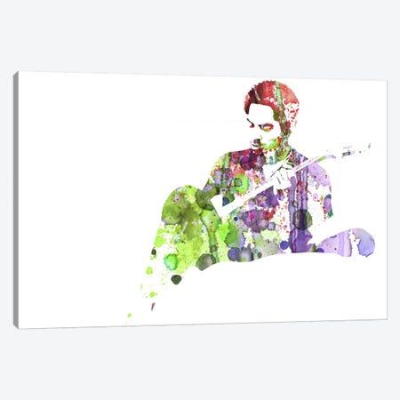 Lenny Kravitz III Canvas Print #NAX63} by Naxart Art Print