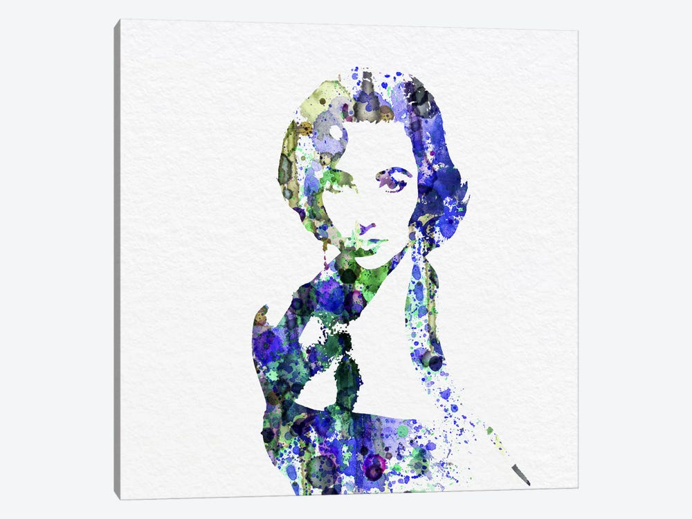 Elizabeth Taylor by Naxart 1-piece Canvas Wall Art