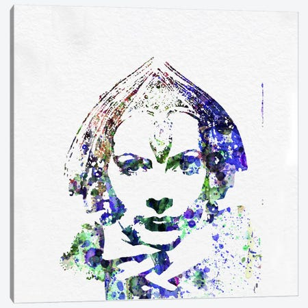 Greta Garbo (Mata Hari) Canvas Print #NAX68} by Naxart Art Print
