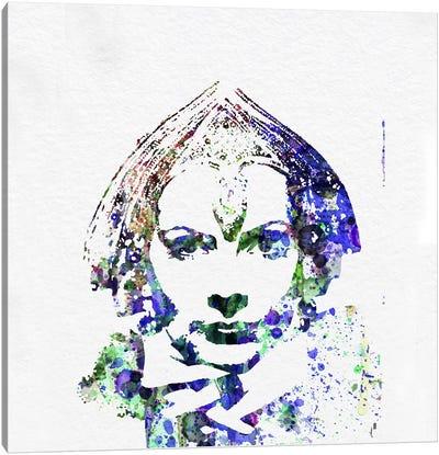 Greta Garbo (Mata Hari) Canvas Art Print