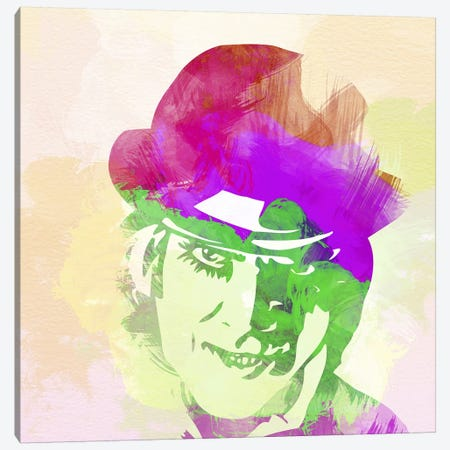 Malcolm McDowell (A Clockwork Orange) Canvas Print #NAX6} by Naxart Canvas Print
