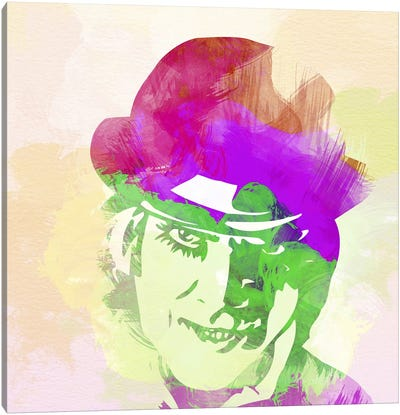 Malcolm McDowell (A Clockwork Orange) Canvas Art Print