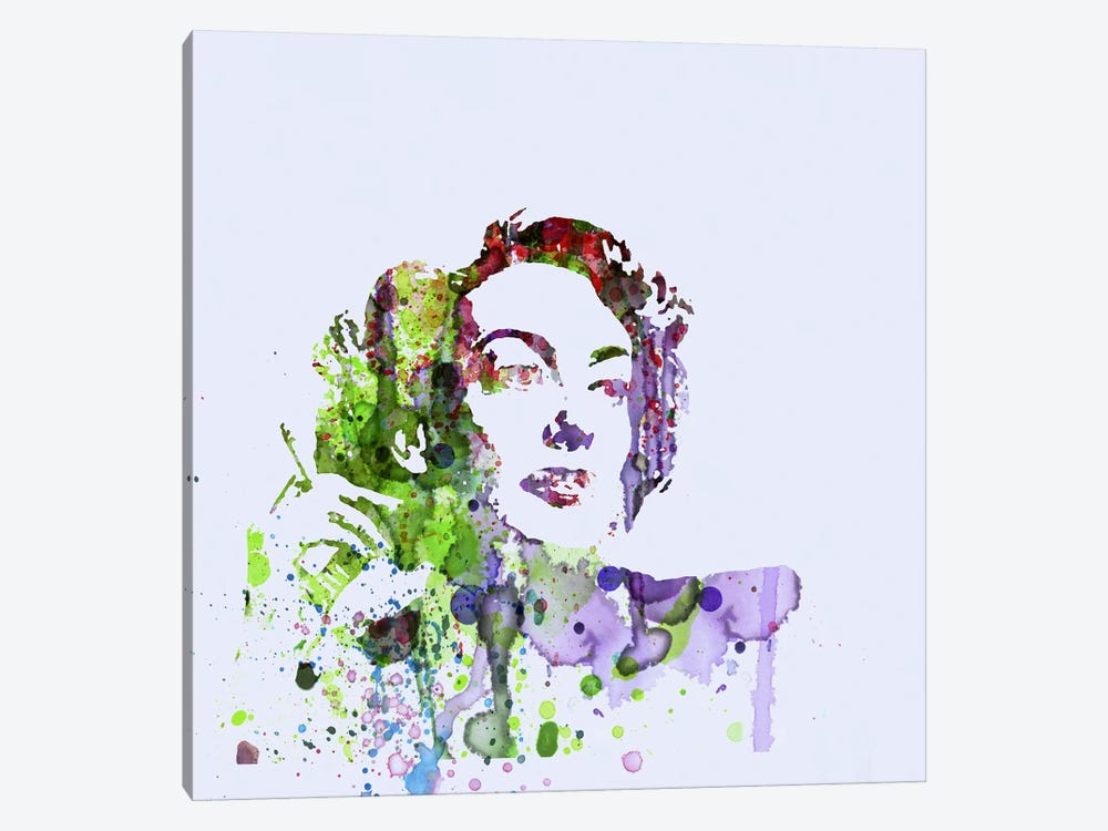 Joan Crawford by Naxart 1-piece Canvas Wall Art
