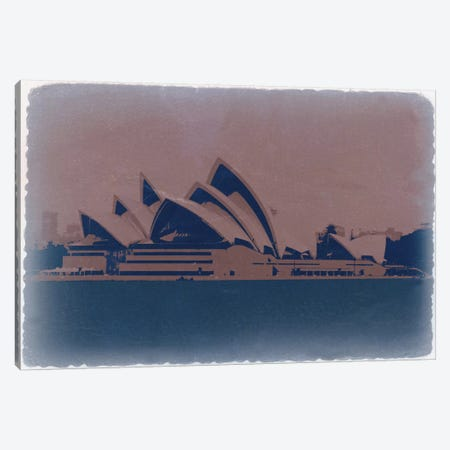 Sydney Canvas Print #NAX757} by Naxart Canvas Wall Art