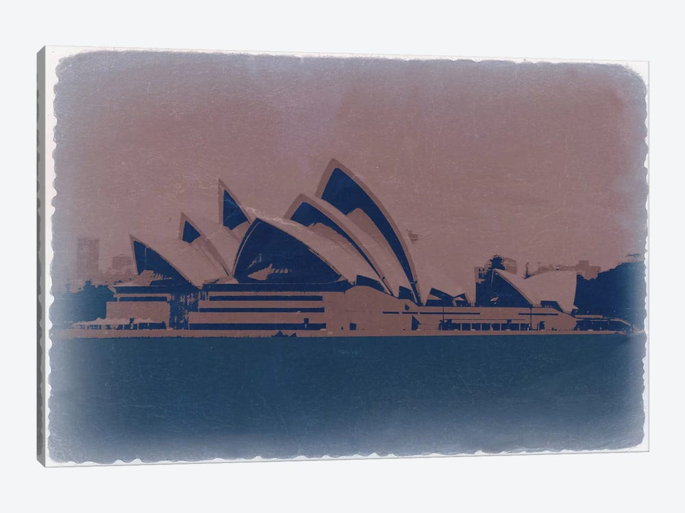Sydney by Naxart 1-piece Canvas Art Print